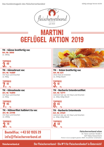 Martini Gefluegelaktion 2019 web